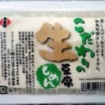 こだわりの生豆腐 木綿